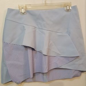 Dresses & Skirts - Zara Basic Collection blue skirt